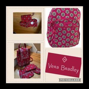 COPY - 4-1 NEW Vera Bradley Knapsack/Wallet /Make…